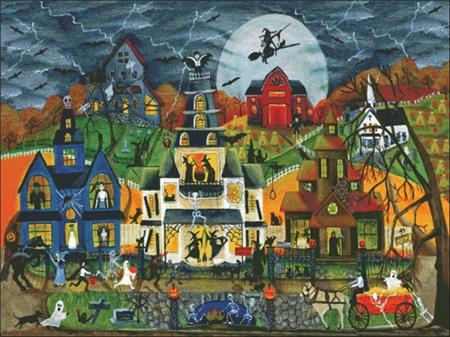 click here to view larger image of Spooky Street (chart)