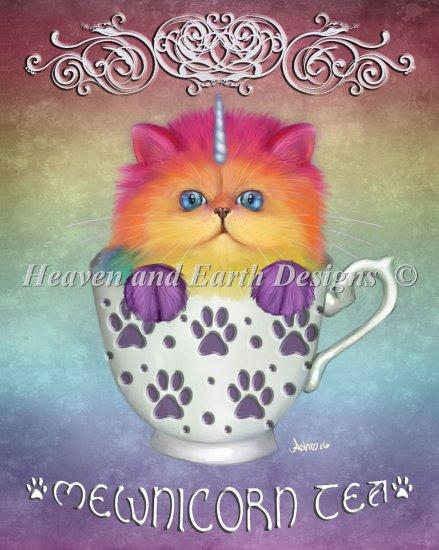 click here to view larger image of Mini Mewnicorn Tea (Large print) (chart)