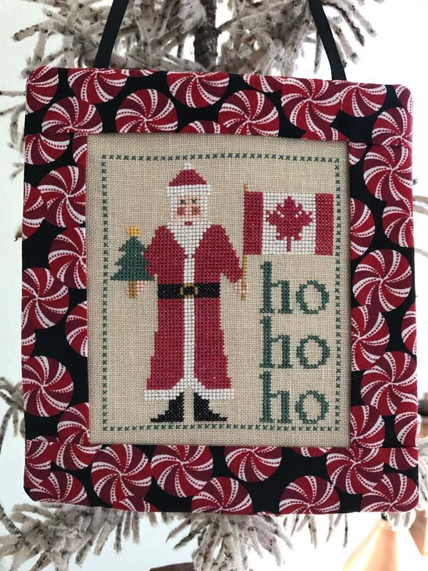 click here to view larger image of Santa Visits Canada (chart)