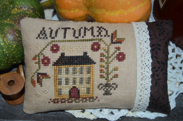 click here to view larger image of An Autumn Pillow (chart)