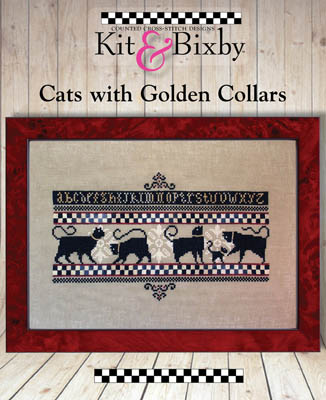 click here to view larger image of Cats With Golden Collars (chart)