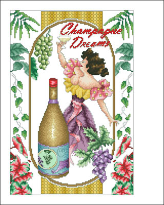 click here to view larger image of Champagne Dreams (chart)
