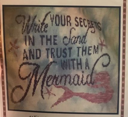click here to view larger image of Trust a Mermaid (chart)