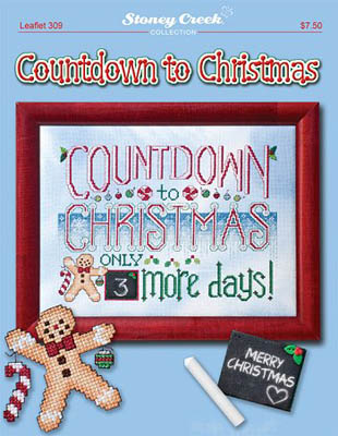 click here to view larger image of Countdown To Christmas (chart)