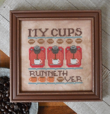 click here to view larger image of My Cups Runneth Over - Cool Beans 6 (chart)