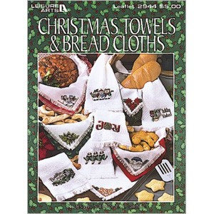 click here to view larger image of Christmas Towels And Bread Cloths (book)