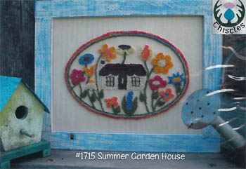 click here to view larger image of Summer Garden House (Punchneedle) (None Selected)