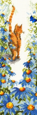 click here to view larger image of Follow Me 2 (counted cross stitch kit)