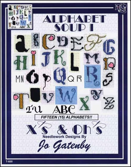 click here to view larger image of Alphabet Soup 1 (chart)