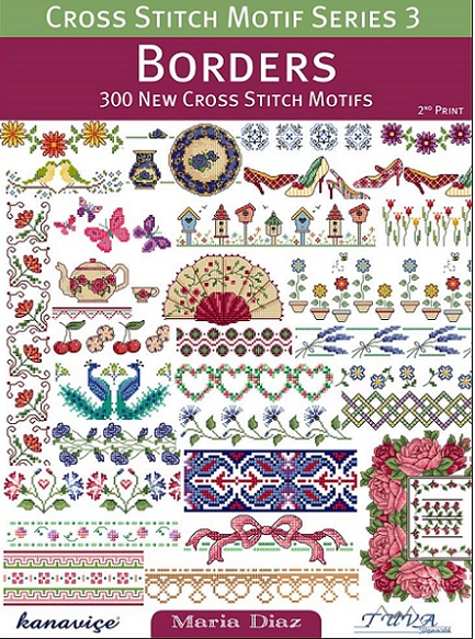 click here to view larger image of Cross Stitch Motif Series 3 Borders (book)