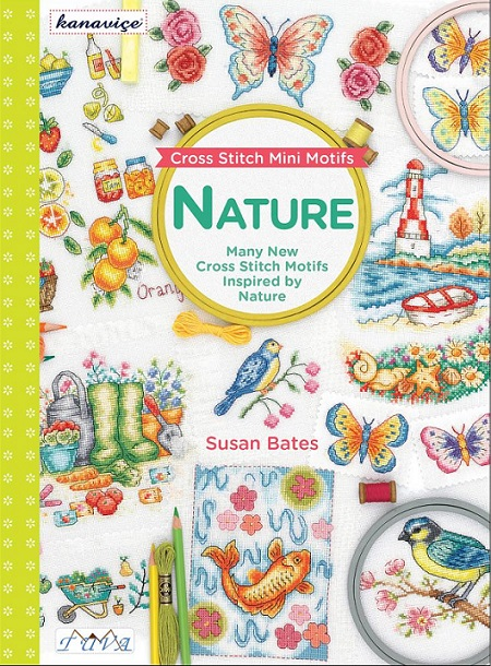 click here to view larger image of Cross Stitch Mini Motifs Nature (book)
