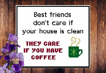 click here to view larger image of Best Friends & Coffee (chart)