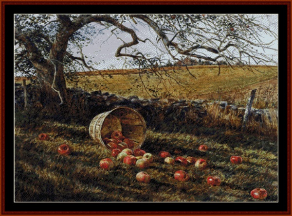 click here to view larger image of Apple Basket - Americana (chart)