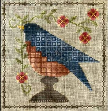 Bluebird Garden - click here for more details about chart