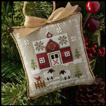 click here to view larger image of Farmhouse Christmas 1 - Little Red Barn (chart)