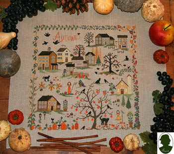 click here to view larger image of Four Seasons, The - Autunno - Autumn (Includes Button) (chart)