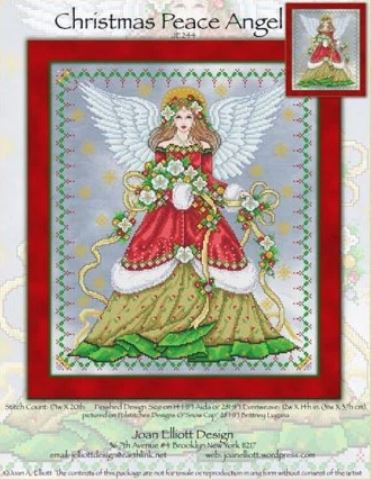 click here to view larger image of Christmas Peace Angel (chart)