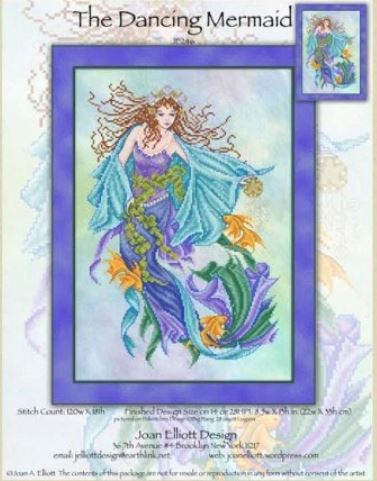 click here to view larger image of Dancing Mermaid (chart)