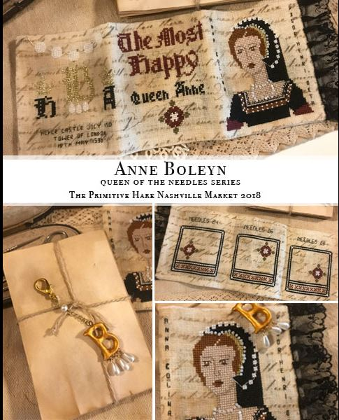 click here to view larger image of Anne Boleyn - Queen of the Needle Series (chart)