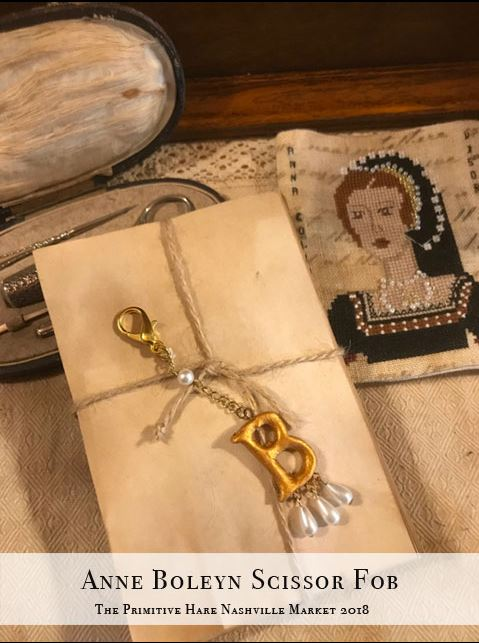 click here to view larger image of Anne Boleyn Scissor Fob (accessory)