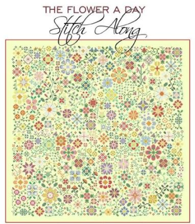 Flower A Day Stitch Along, The - click here for more details about chart