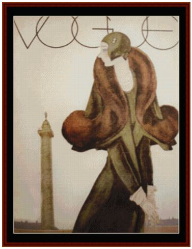 click here to view larger image of Vogue - Vintage Poster (chart)