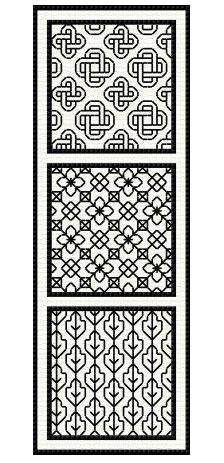 click here to view larger image of Introduction to Blackwork (chart)