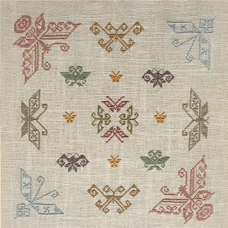 click here to view larger image of Butterfly Sampler (chart)