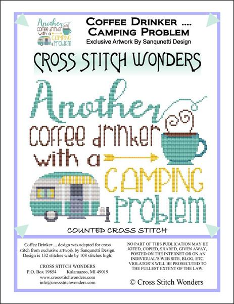 click here to view larger image of Coffee Drinker ... Camping Problem (chart)
