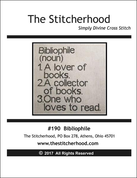 click here to view larger image of Bibliophile (chart)