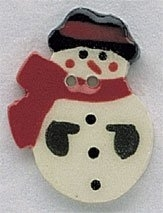 click here to view larger image of Snowman (buttons)
