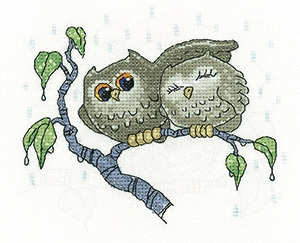 click here to view larger image of Your Shelter - Peter Underhill Collection (Aida) (counted cross stitch kit)