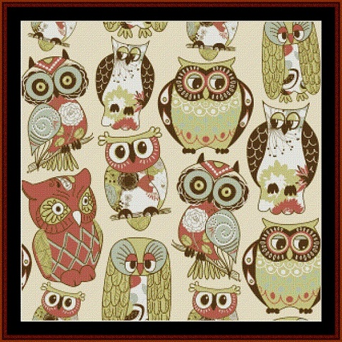 Abstract Owls - click here for more details about chart