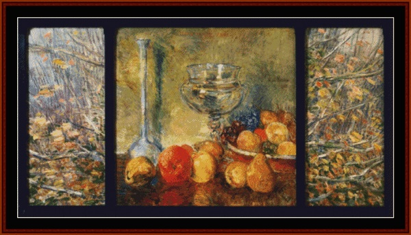 click here to view larger image of Still Life, Fruits (chart)