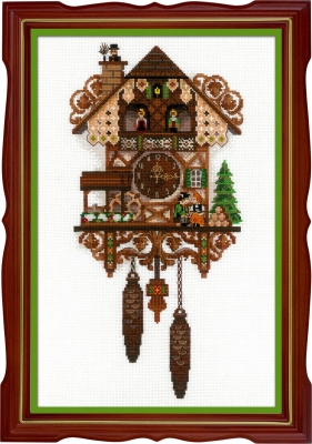 click here to view larger image of Cuckoo Clock (counted cross stitch kit)