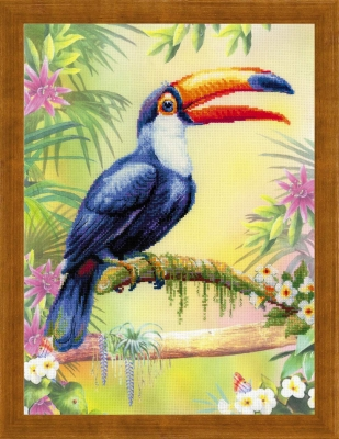 click here to view larger image of Toucan (counted cross stitch kit)