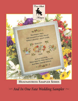 click here to view larger image of And In One Fate Wedding Sampler (chart)