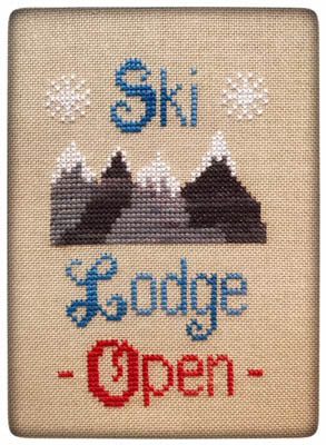 click here to view larger image of Ski Lodge (chart)