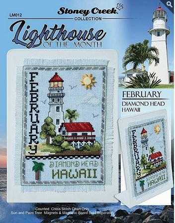 click here to view larger image of Lighthouse of the Month - February (chart)