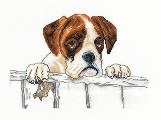 click here to view larger image of  Bailey - Villager Jim (Aida) (counted cross stitch kit)