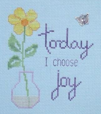 click here to view larger image of I Choose Joy (chart)