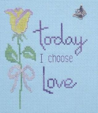 click here to view larger image of I Choose Love (chart)