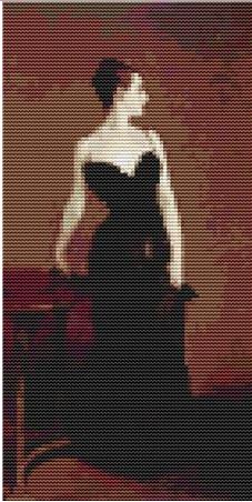 click here to view larger image of Madame X (Mini Chart) (chart)