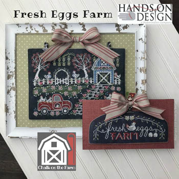 click here to view larger image of Fresh Eggs Farm - Chalk On The Farm (chart)