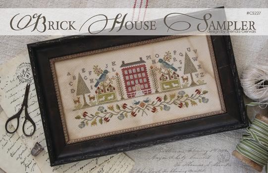 click here to view larger image of Brick House Sampler (chart)