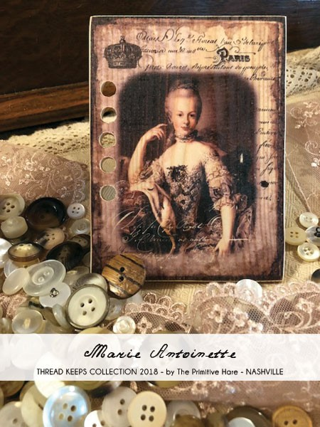 click here to view larger image of Marie Antoinette Thread Keep (accessory)