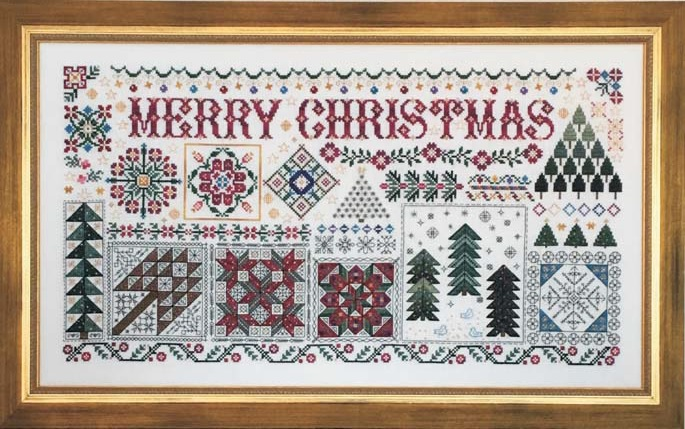 click here to view larger image of Christmas Quilts (chart)