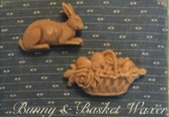 click here to view larger image of Bunny and Basket Waxer Set (chart)