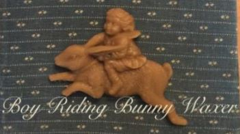click here to view larger image of Boy Riding Bunny Waxer (chart)