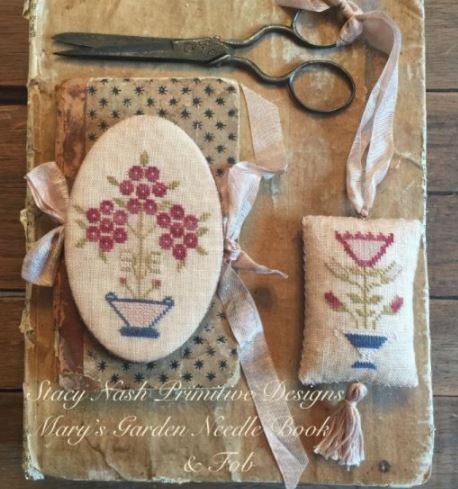 click here to view larger image of Mary's Garden Needle Book and Fob (chart)